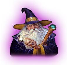 white wizard tattoo