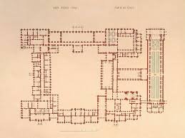 Winter Palace Floor Plan | winter palace the plan of the first floor hermitage museum