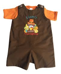 infant thanksgiving amazon com justbabyz baby boy u0027s first thanksgiving personalized