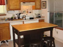 kitchen small kitchen islands and 2 blackish brown square