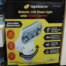 Motion Light With Camera Costco Sale Nightwatcher Robotic Led Flood Light Frugal Hotspot