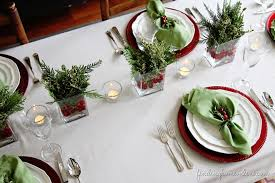 christmas table setting images christmas table setting inspired space the builder s wife