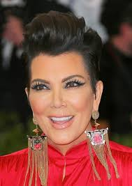 kris jenner haircut side view hairstyles kris jenner sleek faux updo sophisticated allure