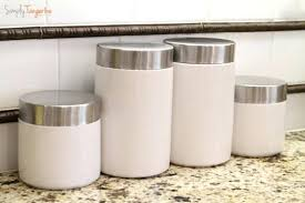 blue kitchen canisters martha stewart kitchen canisters