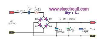 dc power supply not use transformer circuit diagram world