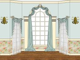 Arched Window Curtain Arched Window Treatments Curtains Window Treatments Design Ideas