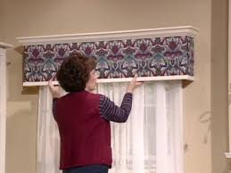 Fabric Covered Wood Valance Diy Cornice No Sew Fabric Valance For Breakfast Nook U2013 Day