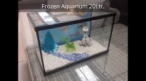 frozen aquarium diy youtube