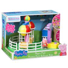 peppa pig u2013 theme park balloon ride toy