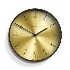 large spun brass wall clock newgate clocks mr clarke