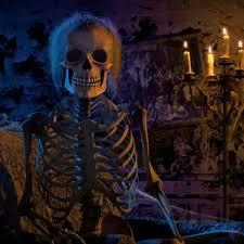 Skeleton Halloween Window Decorations by Halloween Projector Halloween Window Decorations