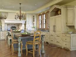kitchen rustic french country kitchen tables design with exposed