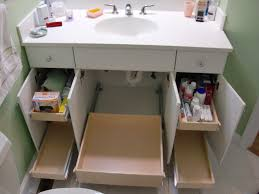 Bathroom Vanity Organizers by Lose The Clutter And Gain Storage Space In Your Sanibel Bathrooms