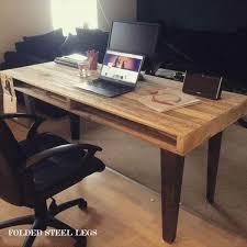 Dining Room Computer Desk Wood Pallet Computer Desk Dining Table 101 Pallets