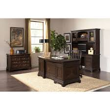 andover executive desk credenza with hutch file cabinet and chair