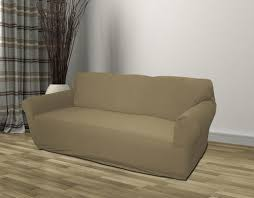 sofa taupe taupe jersey sofa stretch slipcover cover seat cover