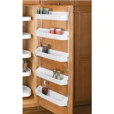 kitchen cabinet door organizers rev a shelf five shelf kitchen door storage sets kitchensource com