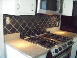 Black Tile Backsplash Kitchen Tile Contractor Creative Tile