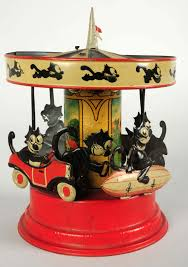 wind up felix the cat carousel may spin to 40 000