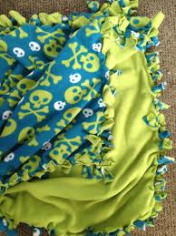 diy blanket diy fleece tie blanket gettin u0027 crafty sorority style