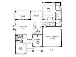 Empty Nest Floor Plans Empty Nester House Plans Bungalow Style Empty Nester Home Design