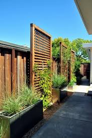 Backyard Screens Outdoor by Screening Fence In 23 Garden Ideas On How To Preserve Privacy