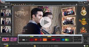 wedding album design software album creation album configuration page composition photo editing