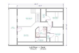 small house floor plans with loft floor plus unfinished loft decks both levels house plans 51340