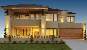 Home Design Double Story Luxury Australian Double Storey Residential House Home Design