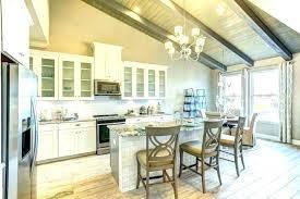 modern kitchen islands modern led kitchen island lighting corbetttoomsen