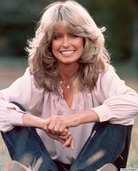 hair that flips in the back farrah fawcett s famous flip hairstyle over the years photos
