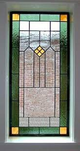 Antique Stained Glass Door by Tiffany Style Stained Glass Window Panel Foter
