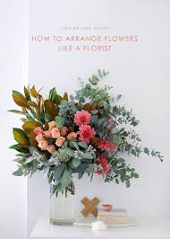 how to arrange flowers step by step with my fave local florist