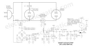 ac relay power switch circuit