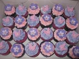 butterfly u0026amp flowers baby shower cupcakes
