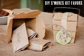 smores wedding favors diy smores kit favors the sweetest occasion