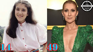 celine dion from 1 to 49 years old youtube