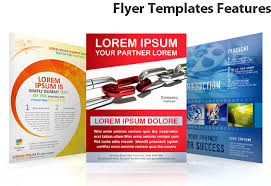 flyer templates features smiletemplates com