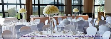 Table Cover Rentals by Wedding Decor Vancouver Chair Covers Rentals Silk Flowers Sequin