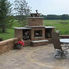 Patio Retaining Wall Pictures Outdoor Fireplaces Adams Mn Landscaping And Landscape Design