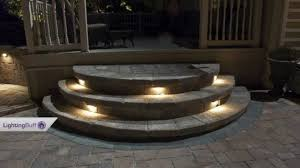 patio lights uk outdoor deck u0026 step lights youtube