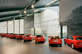 audi dealership world u0027s largest audi dealership with 190 000 sq ft opens in london