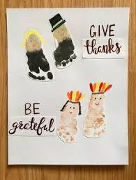 diy thanksgiving footprint crafts memories of baby s