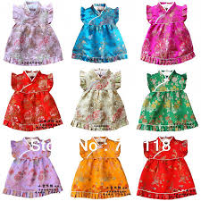 new baby dress infant silk jacquard dress boutique