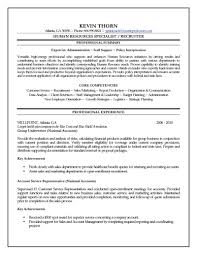 How To Write Summary Of Qualifications Resources Specialist Resume