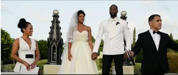 gabrielle union wedding dress dwayne wade and gabrielle union turn their wedding