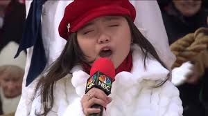 thanksgiving day in japan charice u0027because you loved me u0027 u2014 macy u0027s thanksgiving day parade