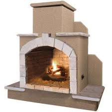 Outdoor Fireplace Chiminea Outdoor Fireplaces Outdoor Heating The Home Depot