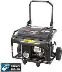 amazon com firman generators eco4000re 6 5 hp remote start gas
