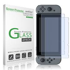 Tempered Glass Windows For Sale Amazon Com Amfilm Tempered Glass Screen Protector For Nintendo